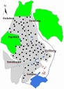 Karte Ackerflächen groß